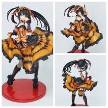 Nouveau 25CM japon Anime Date un cauchemar en direct Sexy pyjama Figure Tokisaki Kurum fille Sexy Pvc figurine Collection jouets