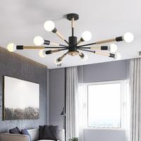 Modern Nordic LED Pendant Lamps Living Room Bedroom Dining Room Hanging Lamp Creative Wooden Art Macaron Pendant Lights Lamparas