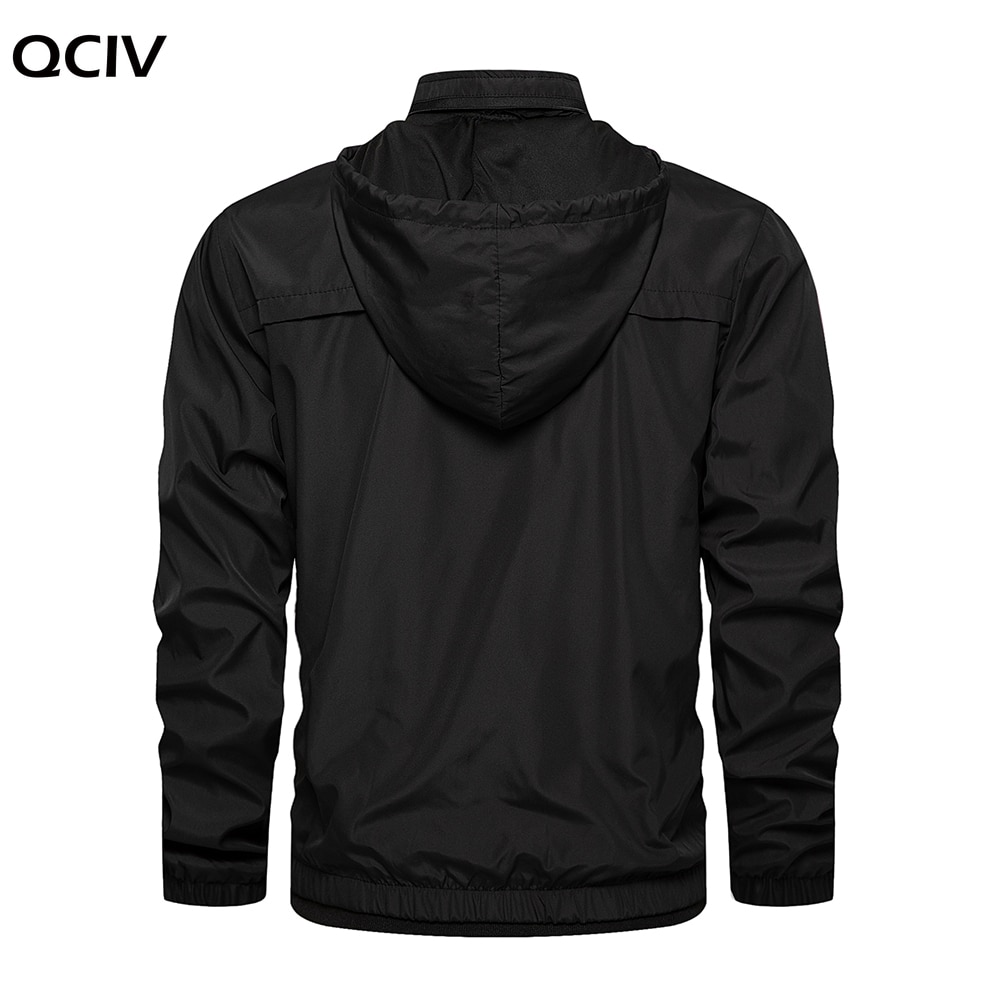 Jacket Autumn Men Fashion Clothing Korea Fashion Lightweight Jacket Hoodie Jacket Outwear Windbreaker White Sweat Coat  - buy with discount
