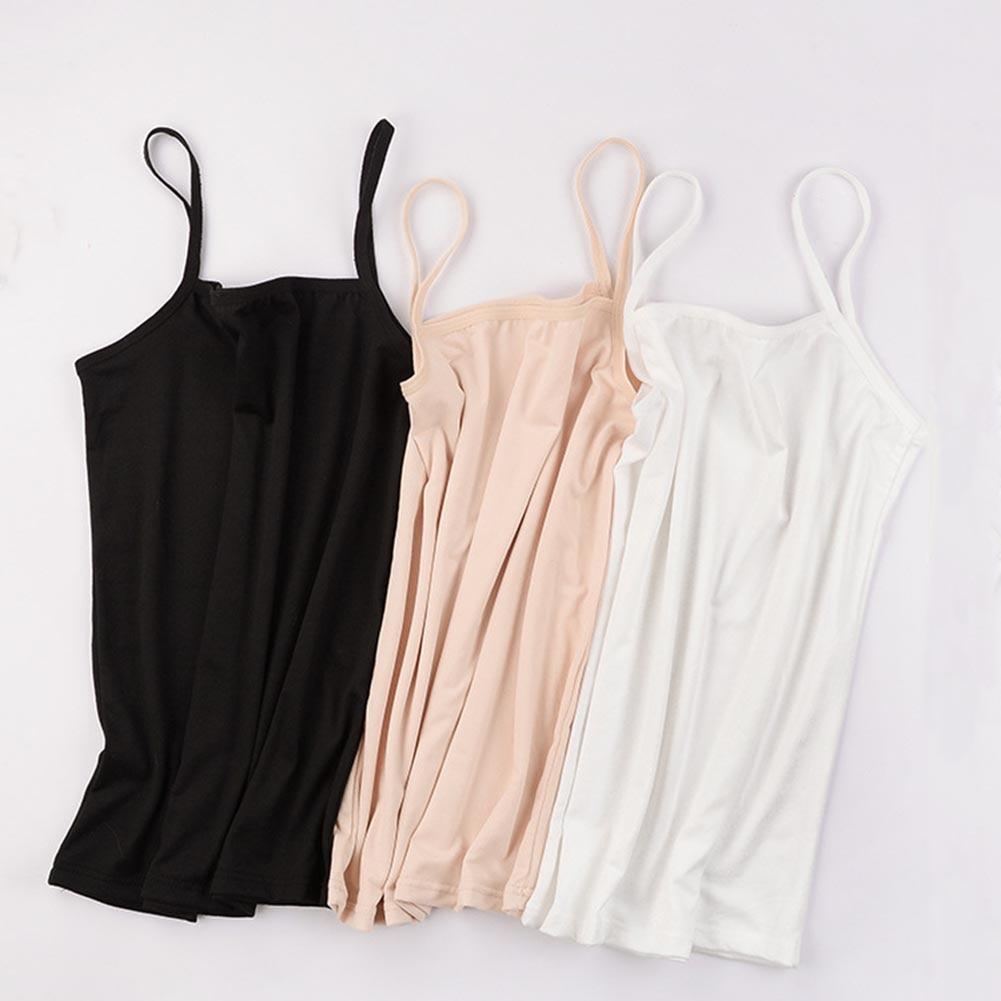Camiseta sin mangas para mujer, camiseta Sexy para mujer, camisolas sin mangas para mujer, ropa interior elástica ajustada con tirantes, chaleco Delgado, Top de encaje