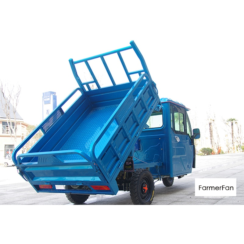Three-wheeled truck heavy-duty household small electric three-wheeled battery car agricultural high-power freight truck
