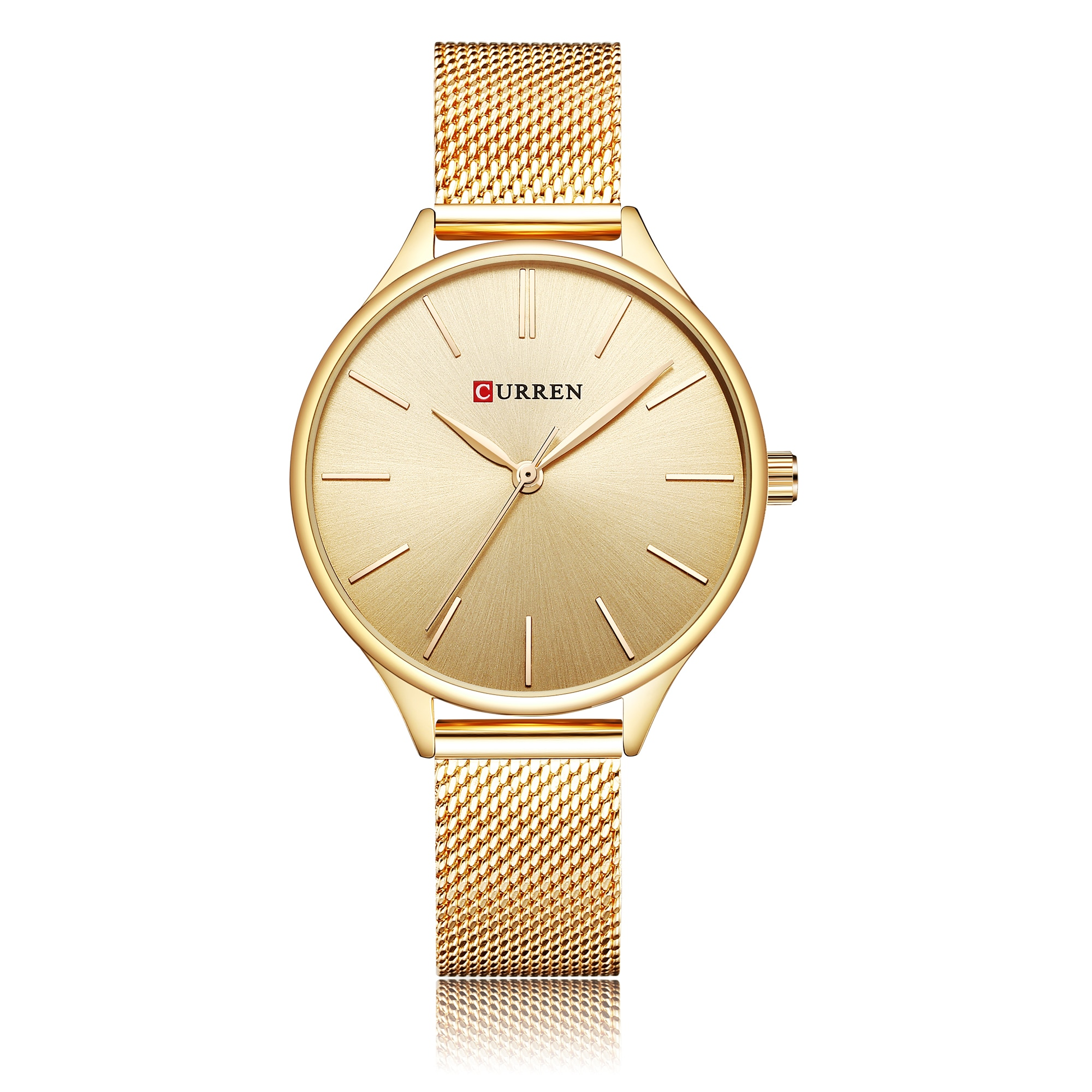 CURREN Female Clock Ladies Gifts Fashion Watches Trendy Wristwatch Stainless Steel Waterproof Small Relogios Femininos De Pulso enlarge