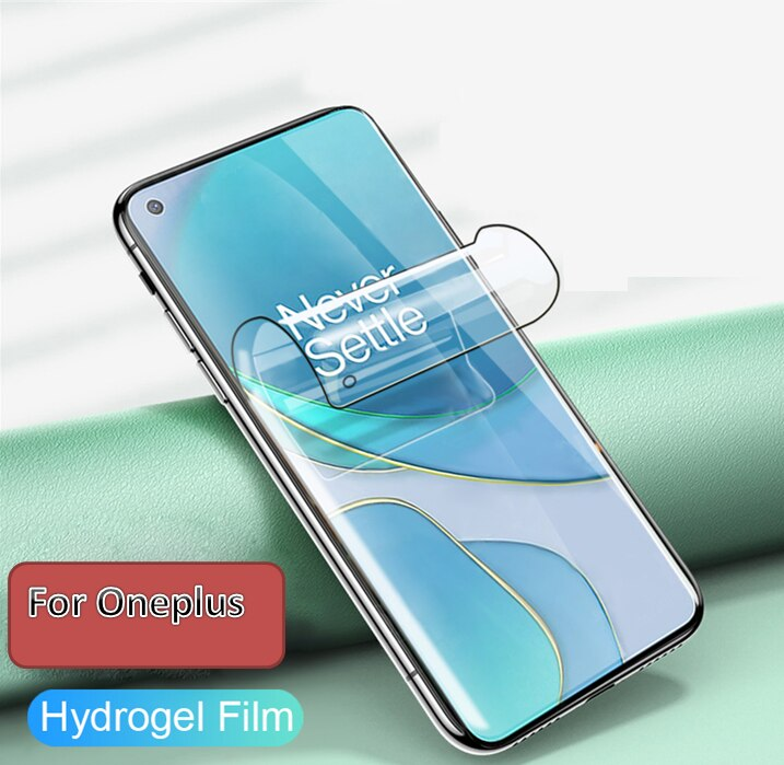 9H Hydrogel Film For Oneplus 7 7T 6T 5T 6 5 3T 3 1+7 1+6 Screen Protector One Plus 7 Oneplus7 6 T 7T