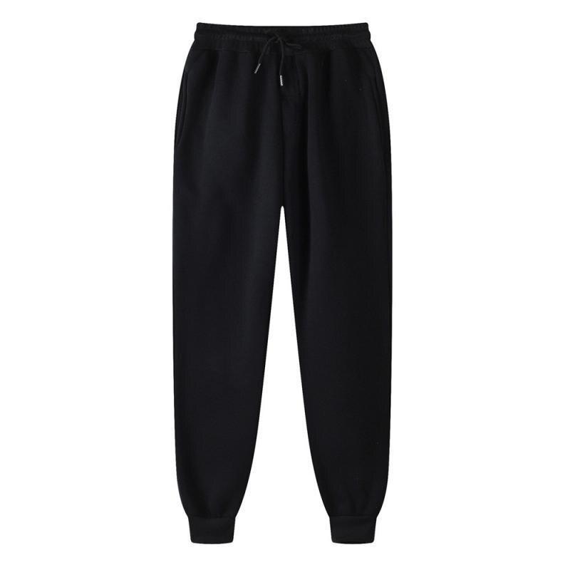 Мужские повседневные брюки, мужские тренировочные спортивные брюки для фитнеса и бега, мужские прямые брюки для улицы, джоггеры, спортивная...