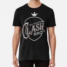 Clash Bro T shirt clash clans coc barbarian king wall breaker golem wizard pekka valkyrie