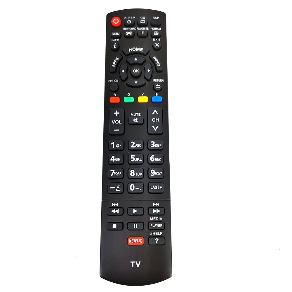 Nouveau Remplacement N2QAYB000828 Pour Panasonic LCD HDTV Télécommande TC-L50E60 TC-P42X3 TC-P50S30 TH-42PX80U Fernbedienung