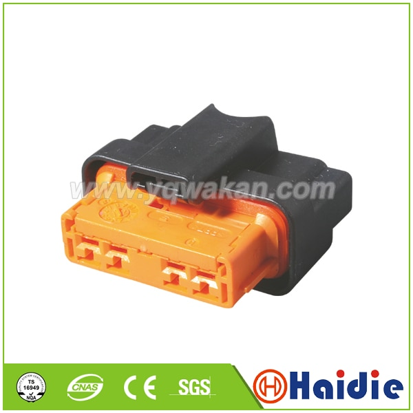 Free shipping 2sets 4pin auto waterproof plug wiring harness connector 953600-1