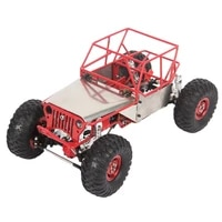 rbrc 116 4wd metal rc car frame without electric parts r0001