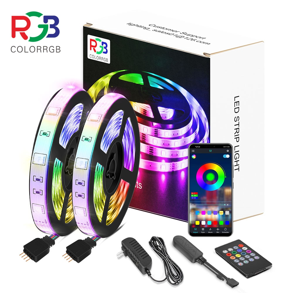 LED light strip, RGB5050,Phone App, 12V ,DIY For Christmas
