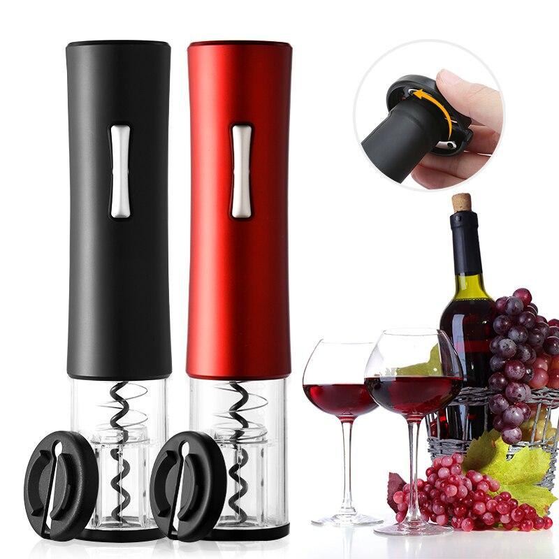 Штопор для вина, беспроводной штопор, штопор для вина, автоматический резак фольги, портативные электрические открывалки для винных бутыло...
