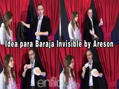 Areson-Baraja Invisible Para trucos de magia, 2015