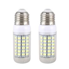 Förderung! 2 stücke energiesparlampe E27 220V 69 SMD 5730 1500LM 6000-6500K LED mais lichter