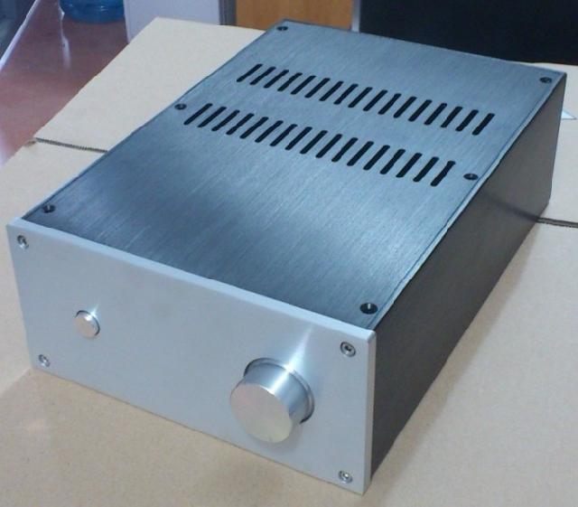 Tamaño (mm)  W220 H100 L311 carcasa de aluminio completa JC2210 carcasa de amplificador