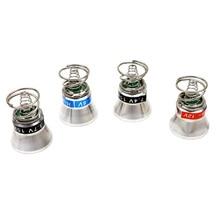 3,7 V 6V 7,4 V 9V 12V lámpara de xenón tapa Módulo de caída de aluminio OP Reflector para 501B 502B P60 linterna lámpara de luz