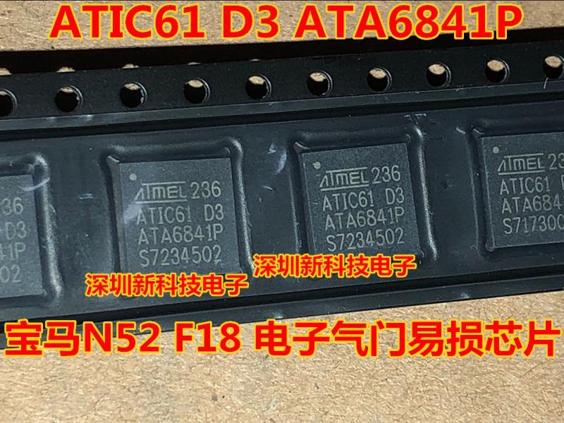 100% Original Novo 5 pçs/lote ATIC61 D3 ATA6841P N52 F18 IC