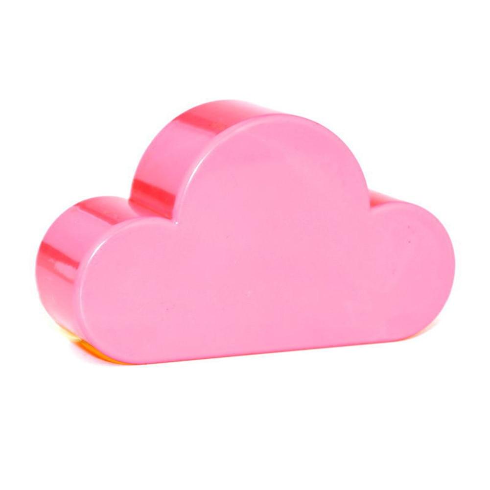 EMVANV soporte de almacenamiento del hogar forma de nube blanca imanes magnéticos llaveros colgador
