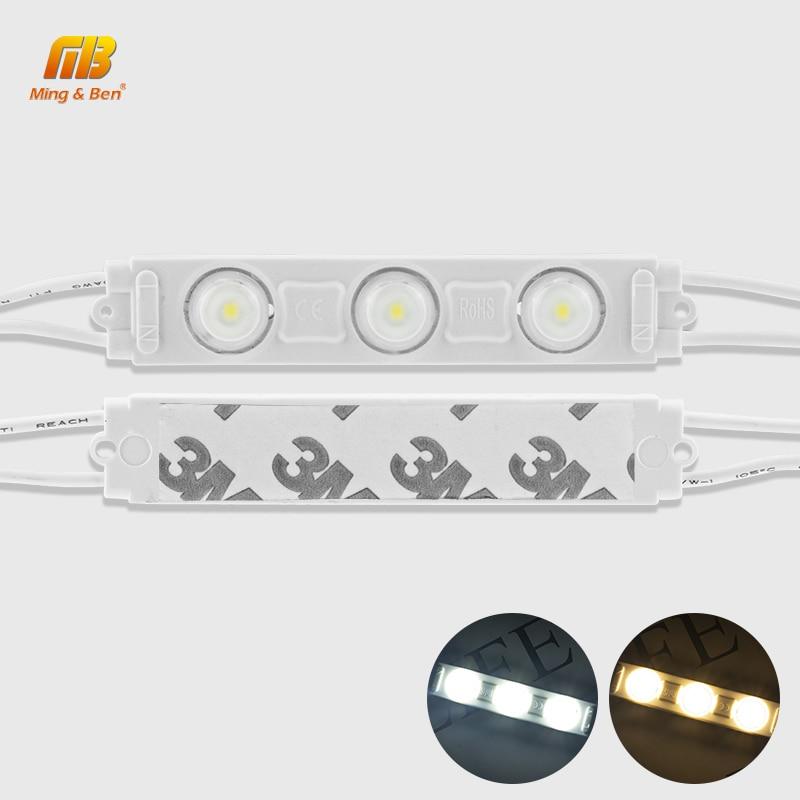 3leds Module lamp 220V IP65 LED Strip light DIY Cutable 2835 Warm Cold White Christmas Decor Living Room Professional Wall Light