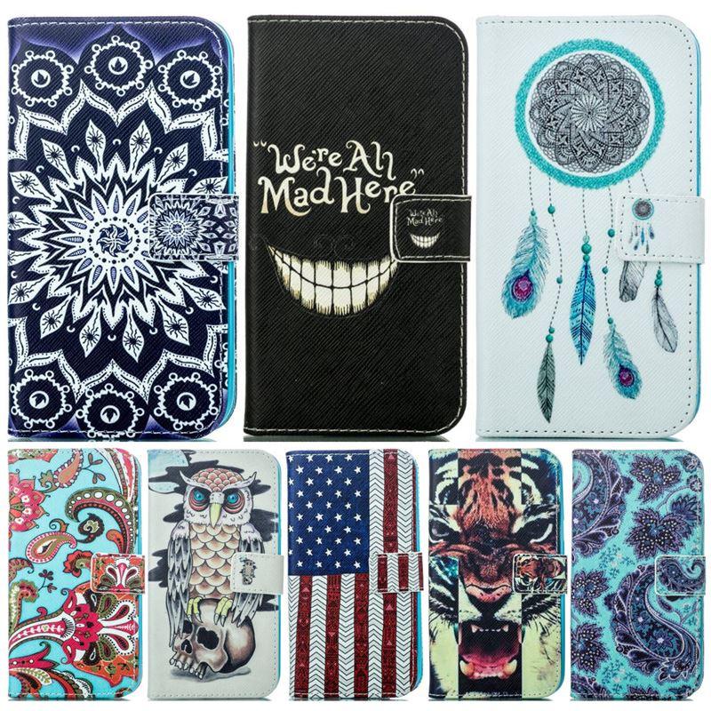 Cover Case For Samsung Galaxy G360 G361 G530 G531 J2 Prime G532F J1 J5 2015 Ace4 G357FZ Leather Wallet Flip Phone Fundas P23Z