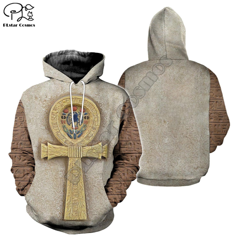 PLstar Cosmos Horus Egyptian God Egyptian Symbol Pharaoh Anubis Tracksuit 3DPrint Zipper/Hoodies/Sweatshirt/Jacket/Men/Women s16