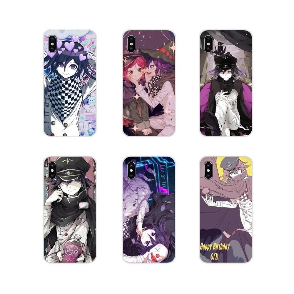 Kokichi Ouma chica anime accesorios fundas para teléfono para Huawei Mate Honor 4C 5C 5X6X7 7A 7C 8 9 10 8C 8X20 Lite Pro