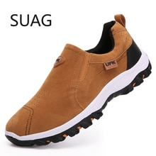 Men Casual Shoes Autumn Breathable Walking Shoes Light Outdoor Running Shoes Men Hiking Sneakers Non