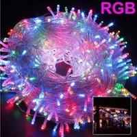 8 modes christmas lights 5m 10m 20m 30m 50m 100m led string fairy light christmas lights for wedding party holiday home lights