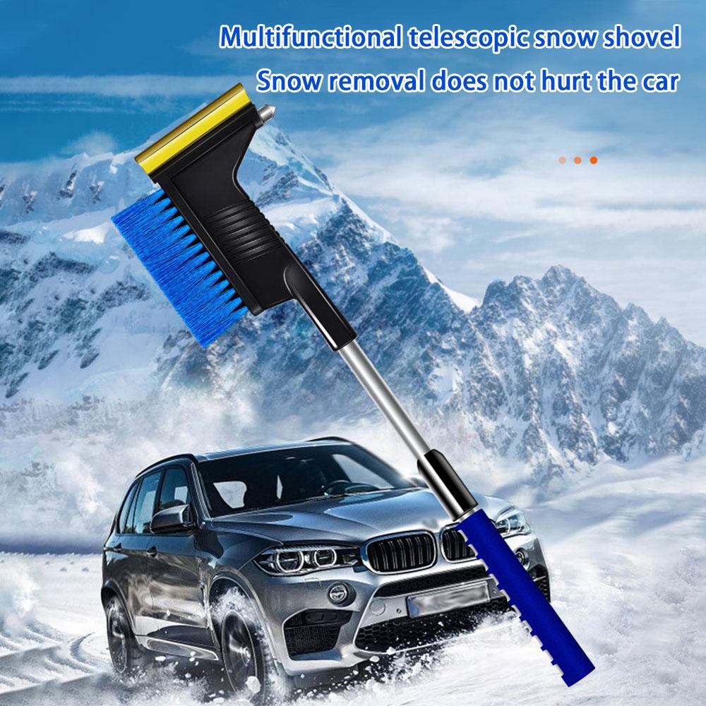 2 в 1, автомобильная Выдвижная лопата для снега