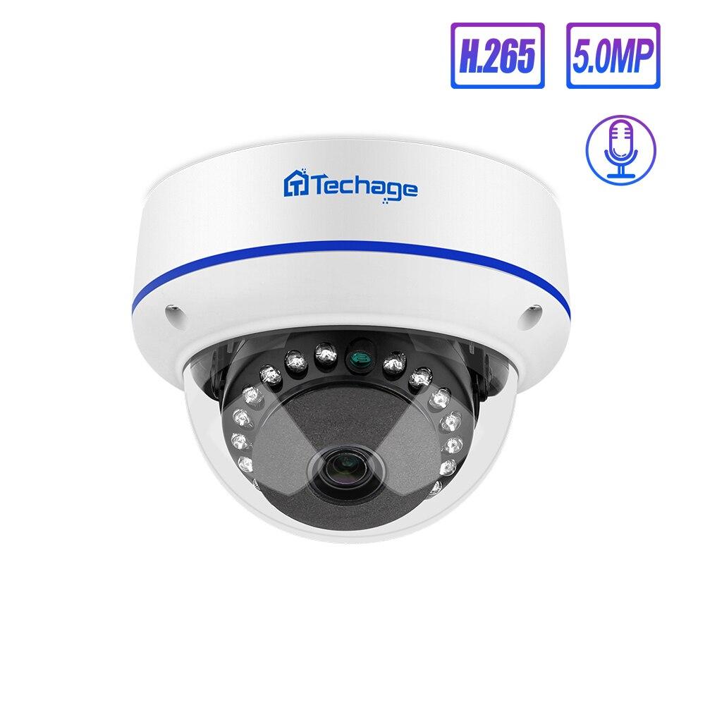 Techage 4MP 5MP Sicherheit POE Kamera 48V Dome Outdoor Indoor IP Kamera Video Netzwerk Überwachung Kamera ONVIF für NVR system Kit