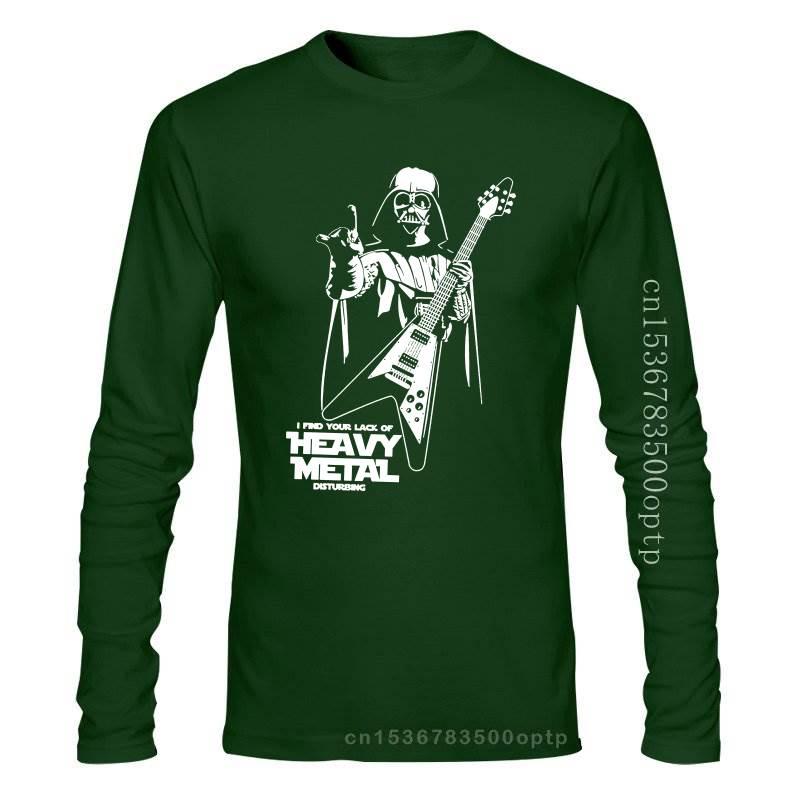 New Men T shirt S W I Find Your Lack Of Heavy Metal Flying V Guitar funny t-shirt novelty tshirt women