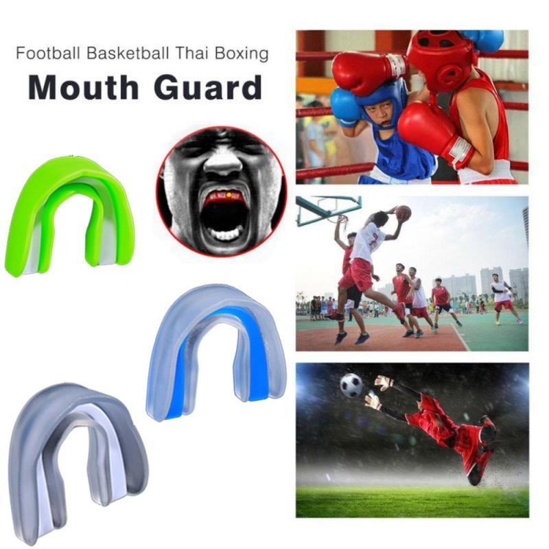 Новая спортивная защита для рта из ЭВА пищевого класса, защита для зубов, боксерские подтяжки Sanda, Taekwondo, защита от моляров, защита зубов в кор...