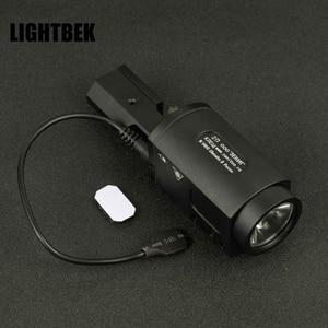Luz táctica AK SD ZENIT 2P-KLESH AK-SD de luz con interruptor remoto integrado 20mm Weaver car DJL
