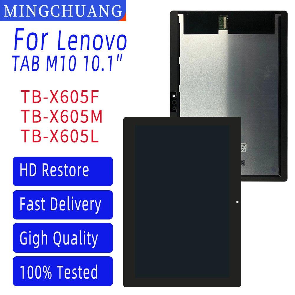 Novo original para lenovo tab 5 plus tab m10 TB-X605L TB-X605F TB-X605M TB-X605 display lcd de toque digitador da tela montagem