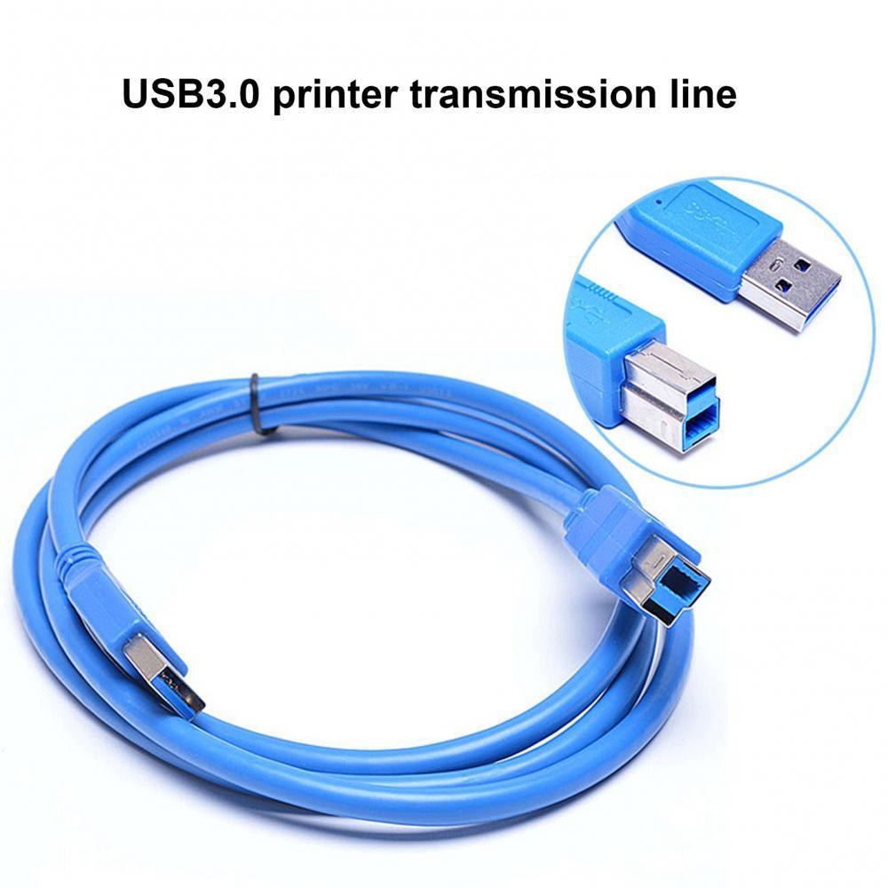 Impresora de escáner USB 0,3 de alta velocidad, Cable de sincronización de...