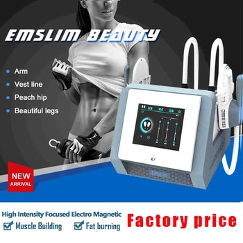 Emslim Neo Fat Burner Machine Ems Muscle Stimulator Sculpt Electromagnetic Body Sculpting and Contouring Machine