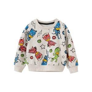 2020 Toddler Boys Hoodies Casual Cartoon Print Long Sleeves Sweatshirts for Boy Kids Clothing High Quality Tops Child Tshirt