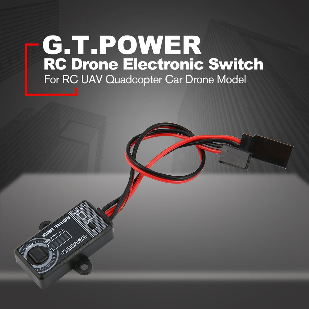 New G.T.POWER 0-40V Remote Controller Electronic Switch RC Parts for RC Aircraft Helicopter Quadcopter Car Drone Model enlarge