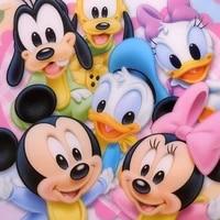5D BRICOLAGE Plein Carre rond 5D Diamant Peinture Mickey Donald Duck Diamant Broderie Point De Croix Strass Mosaique Decor A La Maison