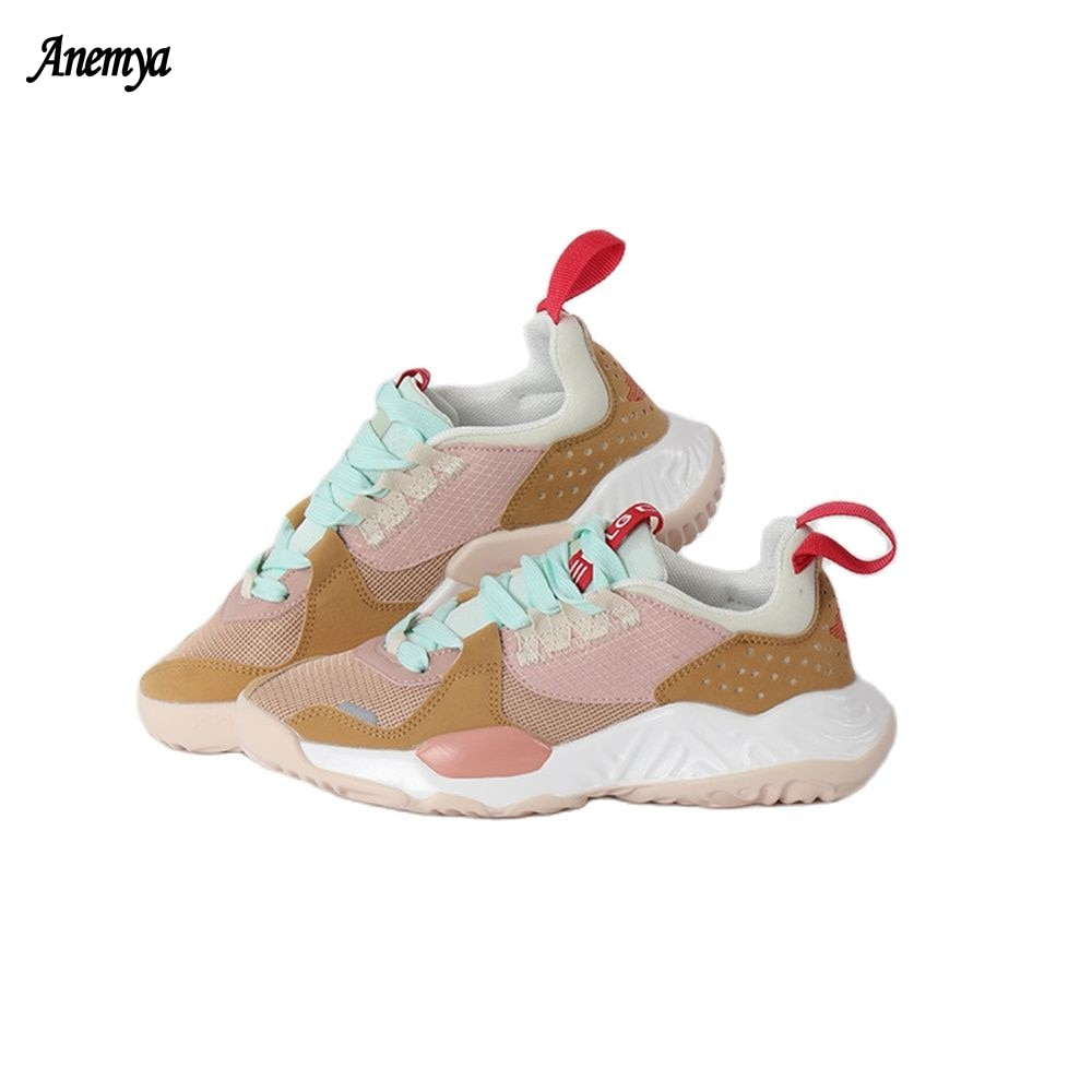 2021 New Designers Trendy Sports Shoes Women Breathable Lightweight Sneakers Woman Casual Shoes Running Walking Shoes Lady 40