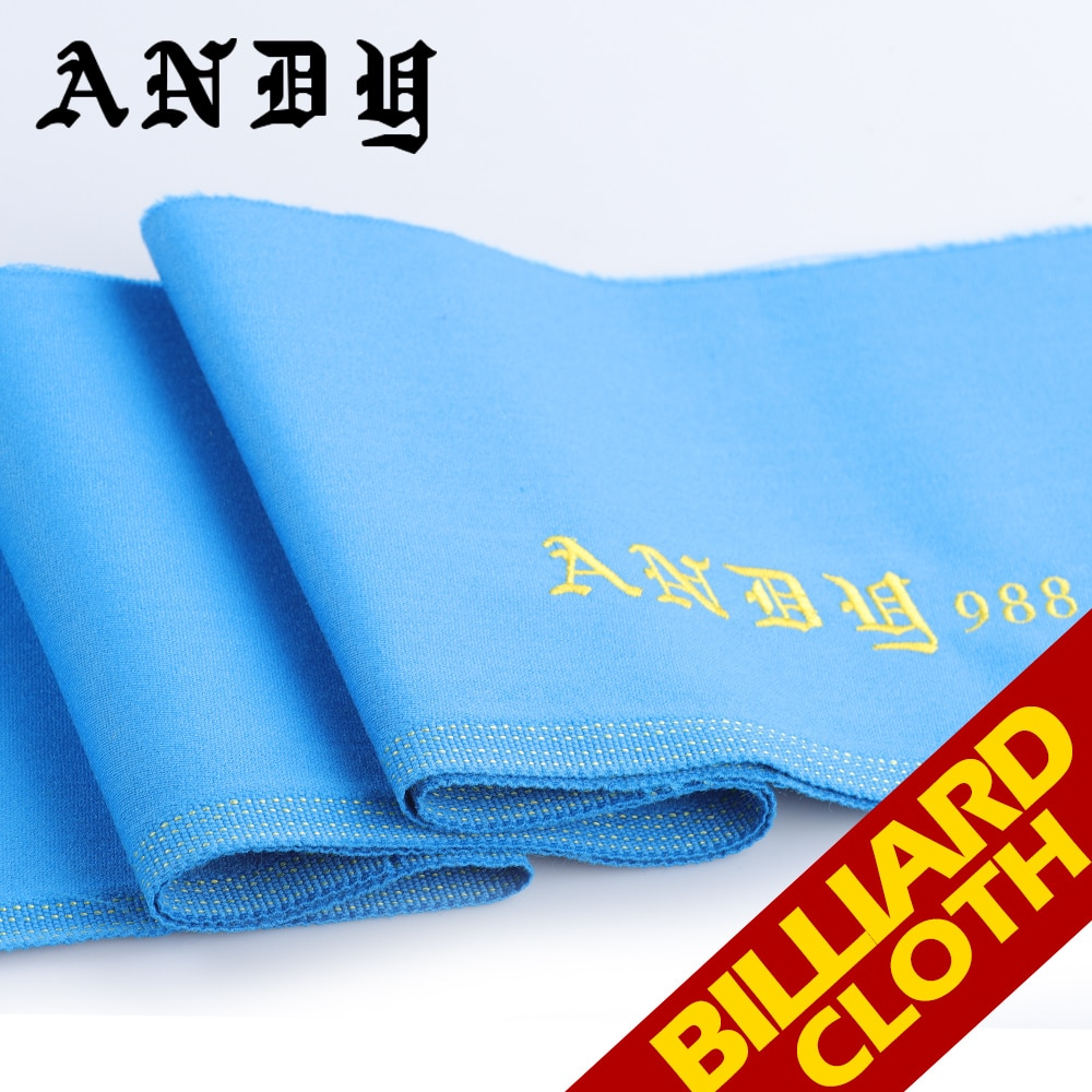 ANDY Pool Cue Billiard Cues Table Cloth 2780mm Length 1500mm Width Blue Green Gray 3 Color Durable Billiard Accessories 2019