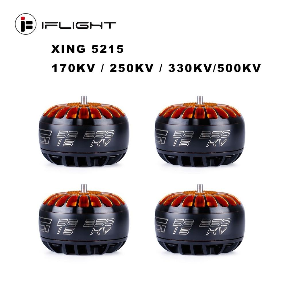 IFlight XING 5215 170KV / 250KV / 330KV / 500KV 6S Motor sin escobillas para x-class RC Drone FPV Racing repuestos accesorios