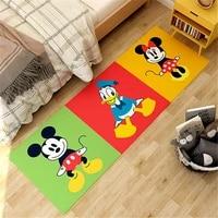 cartoon printing doormat mickey kids playmat minnie floor mat non slip mat home decoration door mat bedroom play mat