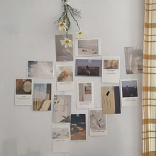 30sheets Ins Art Decoration Card Set Simple Style Photo Postcard Diy Room Wall Sticker Greeting Card Background Photography Prop