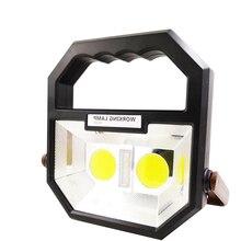 ZK20 livraison directe COB LED lumière de travail Rechargeable Portable étanche lumières dinondation pour Camping randonnée voiture durgence réparation
