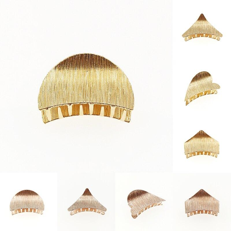 1pc moda feminina menina geométrica hairgrip hairpins triângulo grampo de cabelo delicado grampo de cabelo barrette cabelo jóias acessórios para o cabelo