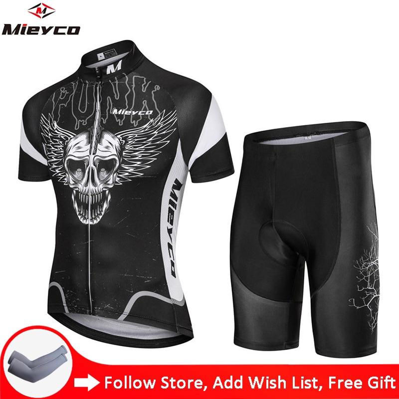 Mieyco-Uniformes De Ciclismo Para Hombre, ropa De Ciclismo De montaña, con diseños...
