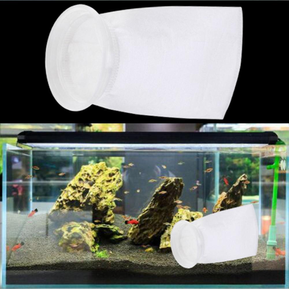 100/150/200um PP bolsa de filtro de acuario Filtro de tanque de peces red Sump micrón bolso calcetín bolsas acuario suministra productos para mascotas