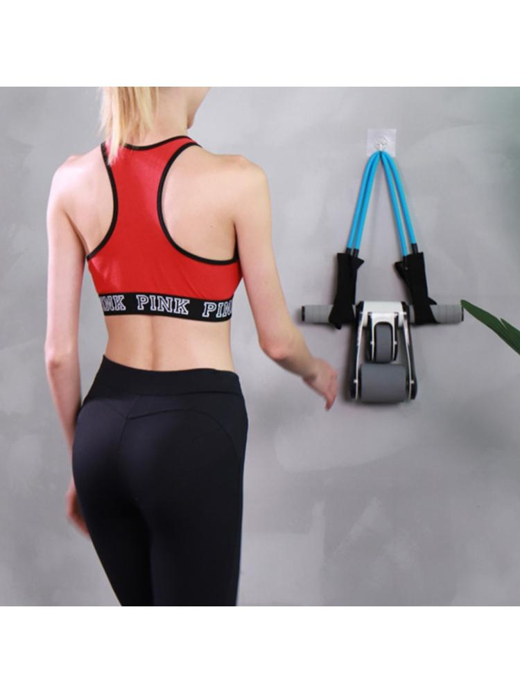Exercise Abdominal Wheel Foldable Fitness AB Roller Home Gym Workout Equipment k starf treadmills multifunctional foldable mini fitness home treadmill indoor exercise equipment gym folding house fitness