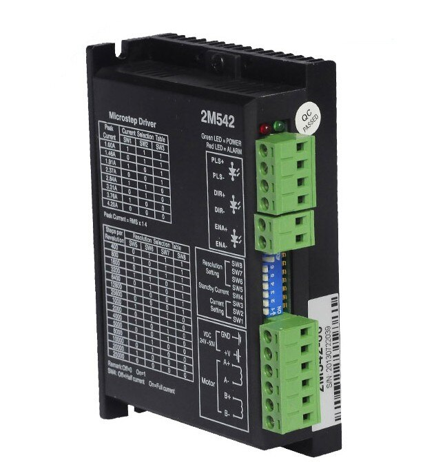 Apropriado para jmc 2m542 microstep driver 2 fase 1.0-4.2a 24-50vdc apto 57 motor para cnc