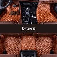 HLFNTF Custom car floor mats For Citroen C3-XR C4 Cactus C2 C3 C5 Aircross SUV car accessories car-styling 100% fit