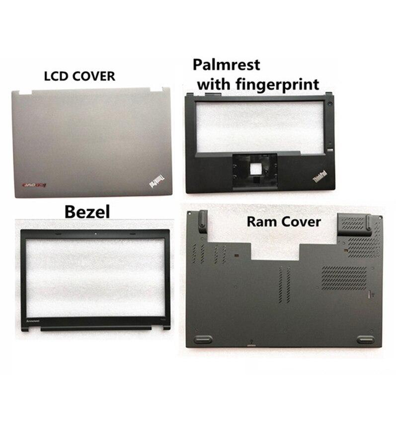 غطاء لوحة مفاتيح Lenovo Thinkpad T440P ، إطار أمامي LCD ، مسند للمعصم ، غطاء حافة جديد